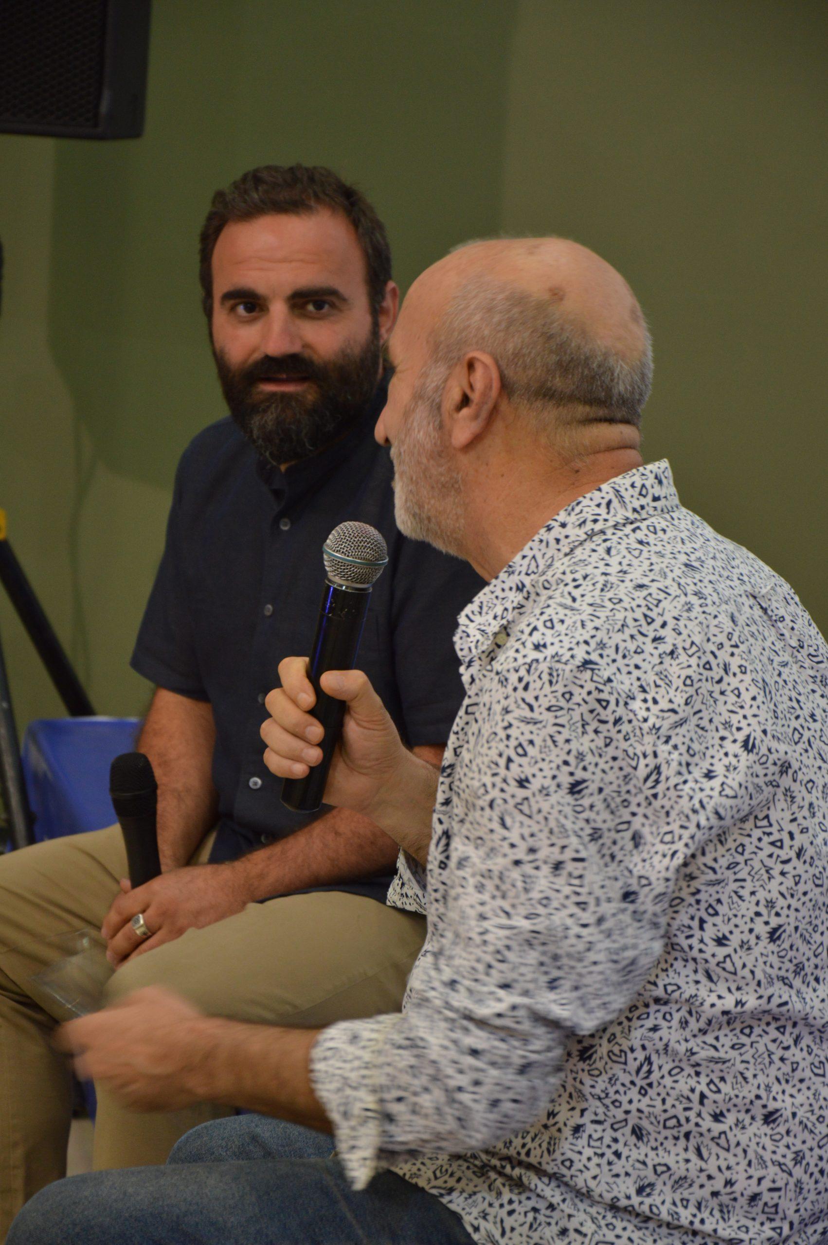 Presentation of Giorgio Agamben's essays at Yerevan Book Fest